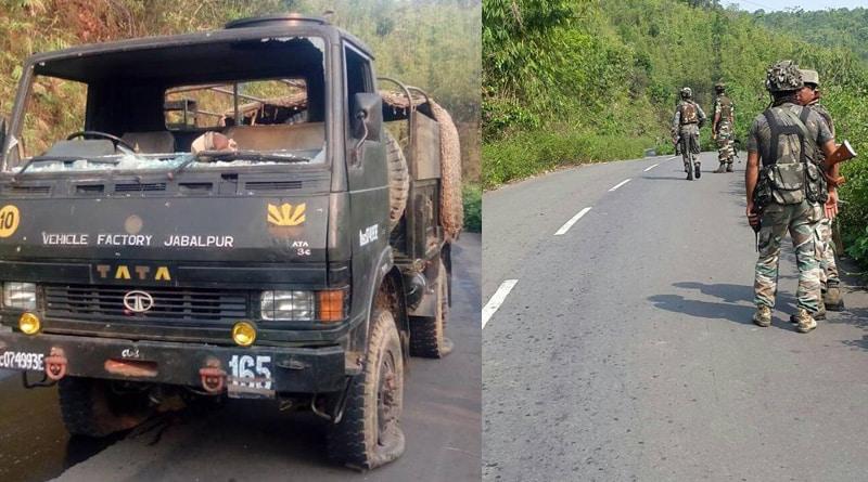 IED blast hits army convoy in Manipur, jawan killed