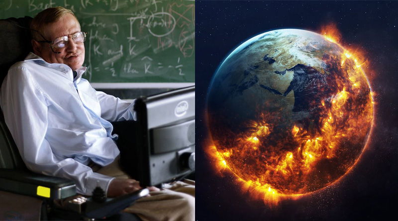 Stephen Hawking thinks the human species will have to populate a new planet within 100 years