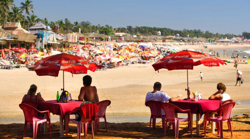 Goa Police arrested Six people for drinking in open at Goa beach