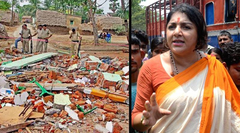 BJP demands NIA probe in Burdwan TMC party office blast incident