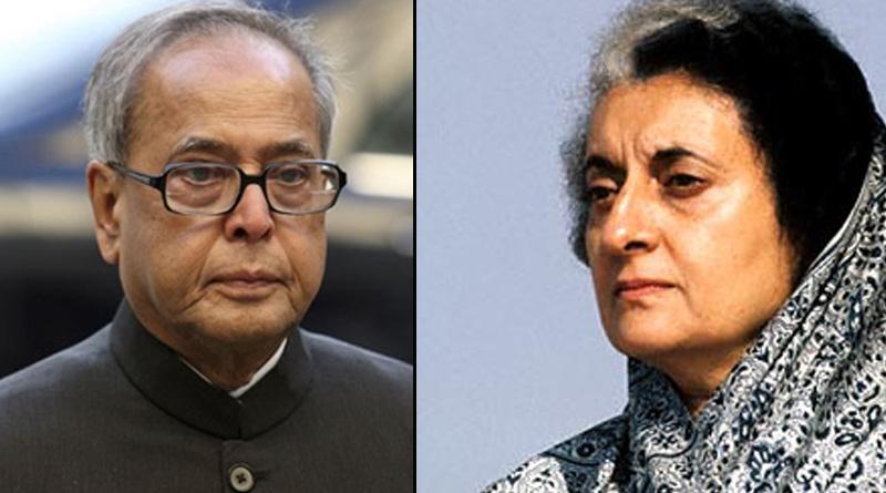 Even today also Indira Gandhi 'Most Acceptable' PM, says President Pranab Mukherjee