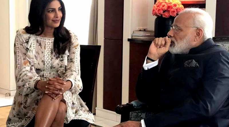 Priyanka Chopra meets PM Modi in Berlin, slammed for dress on social media