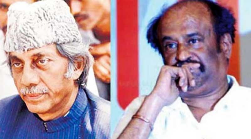 'Don's project papa as Don', Haji Mastan's son wsrns Rajinikanth