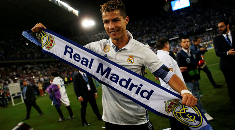 Cristiano Ronaldo hits out at critics as Real Madrid celebrate La Liga title