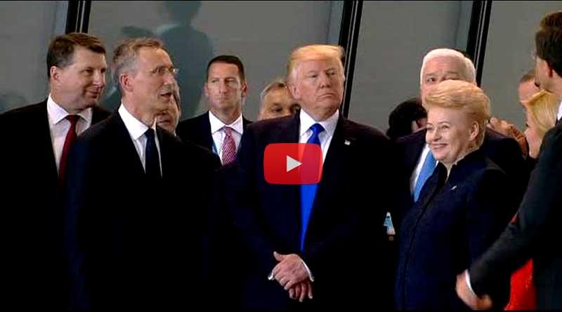 Donald Trump pushes Montenegro PM Markovic aside