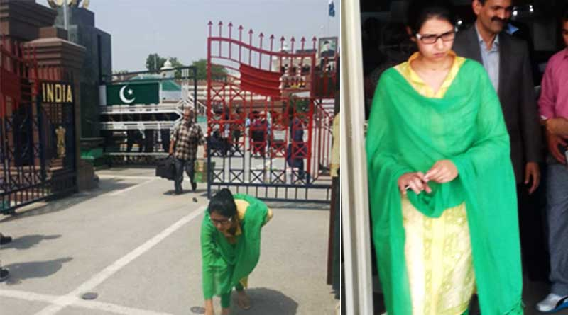 EAM Sushma Swaraj welcomes 'India's daughter' Uzma on home coming