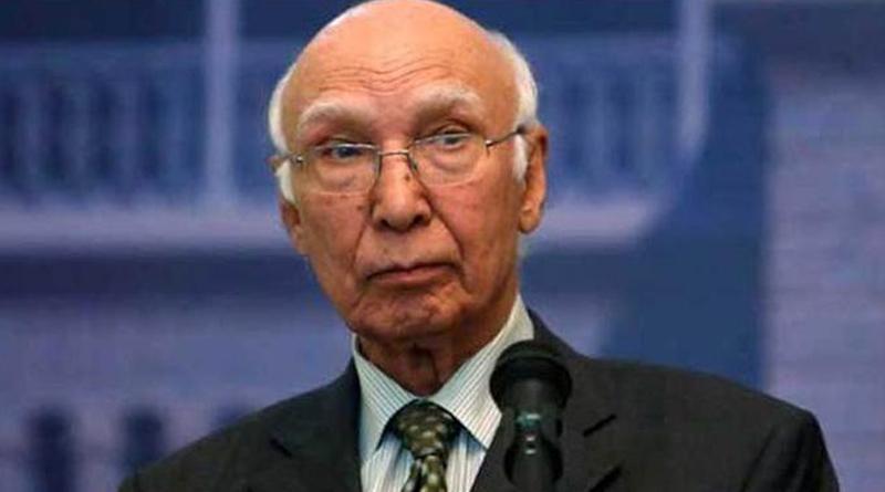 Sartaj Aziz says ICJ didn't order consular access to Kulbhushan Jadhav