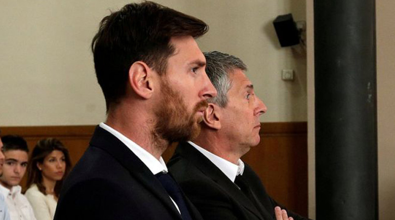 Spanish Supreme Court Confirms Messi's jail sentence for tax fraud