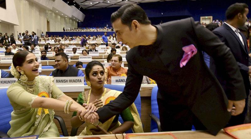 Sonam Kapoor looks stunning at National Film Awards Ceremony