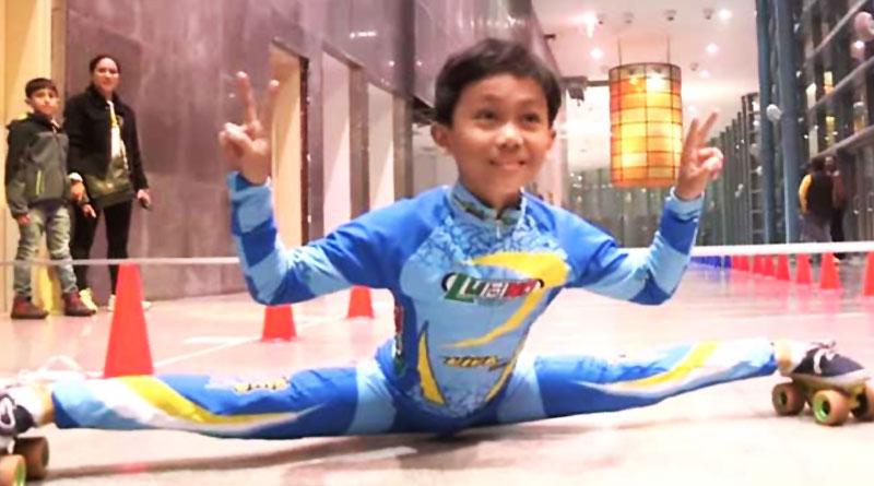 Stunning performance of a Delhi boy in limbo skating draws massive applaud