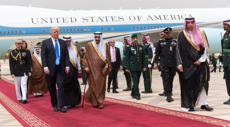 flush terrorists out of worship places, trump urges Islamic countries