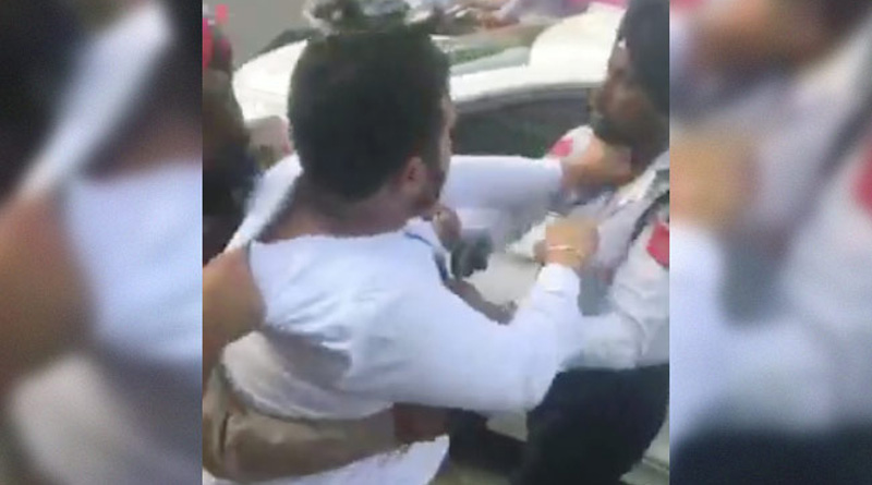 BMW driver assaults cop in Punjab, video goes viral