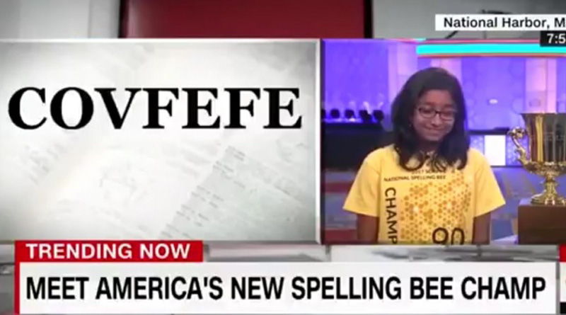 CNN 'Congratulates' Indian Origin Girl Who Won The Prestigious Spelling Bee With Racist Remarks