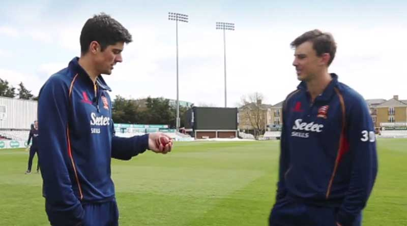 Extremely agile Alastair Cook's marvelous catch stuns reporter