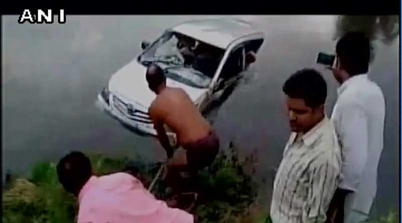 11 killed after car plunges into river in Mathura