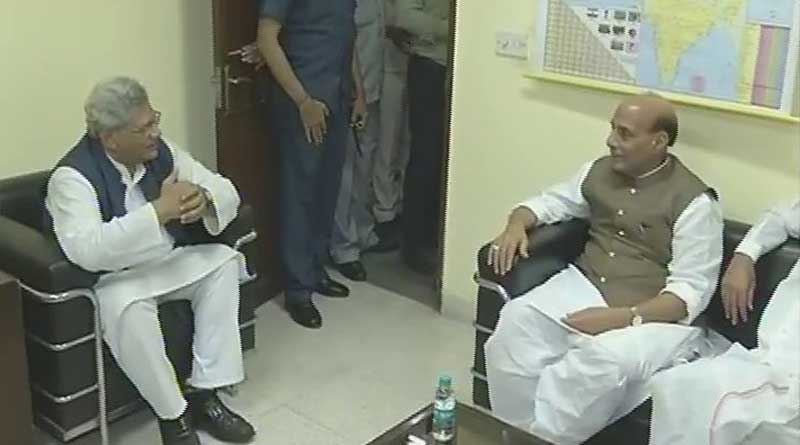 BJP leaders meet Sitaram Yechury over Presidential poll