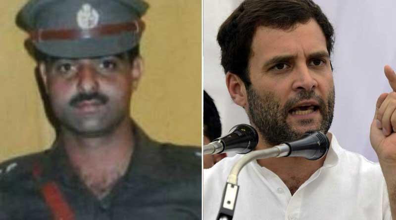 Rahul condemns cop lynching in Kashmir, blames BJP-PDP
