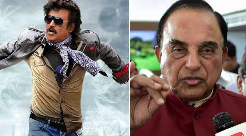 Subramanian Swamy calls superstar Rajinikanth a 'Fraud'