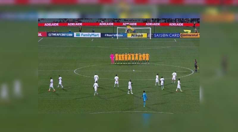 Saudi Arabia's football team SNUBS a minute's silence ahead of World Cup qualifier against Australia