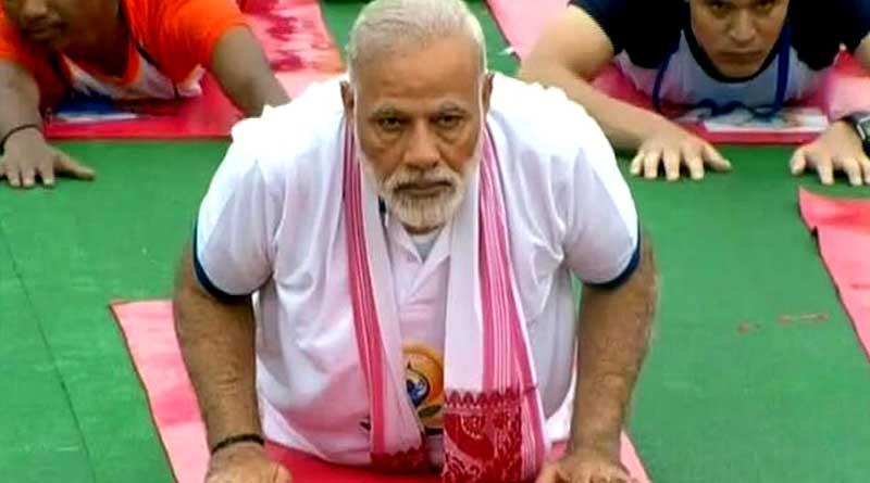 India celebrates international yoga day, PM Modi Kicks off the celebration in Lucknow
