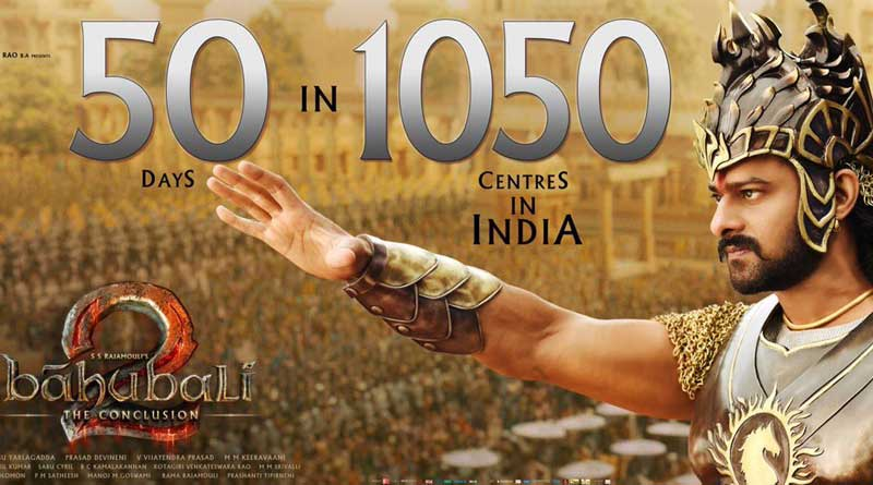 'Baahubali 2' scripts history, dominates 1,000 Screens after 50 days of release