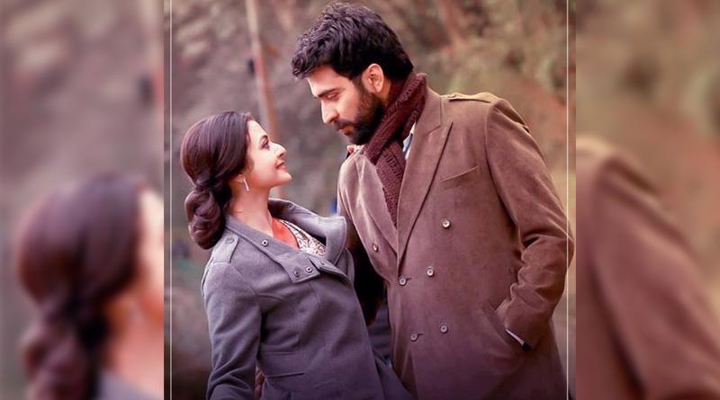 Abir,Koel's upcoming movie 'Chaya O Chobi' logo launch