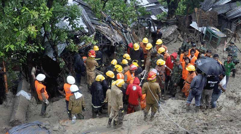 Rain triggers landslide in Bangladesh, 4 killed