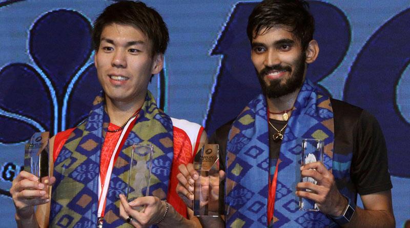 Kidambi Srikanth beats Kazumasa Sakai to clinch Indonesia Open Super Series trophy