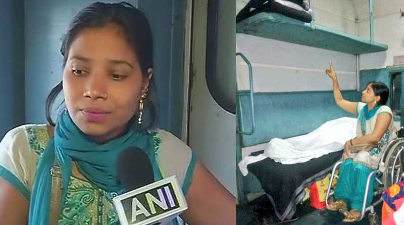 Para-athlete Suvarna Raj forced to sleep on floor after she was allotted an upper berth on a Nagpur-Delhi train