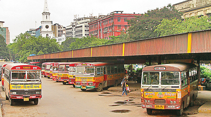 BBD Bagh bus stand ton cease function due to metro project