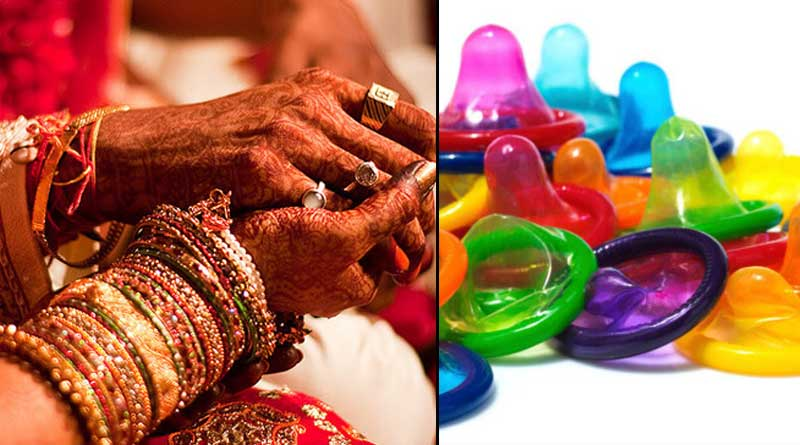 Now UP govt to gift condoms to newly weds