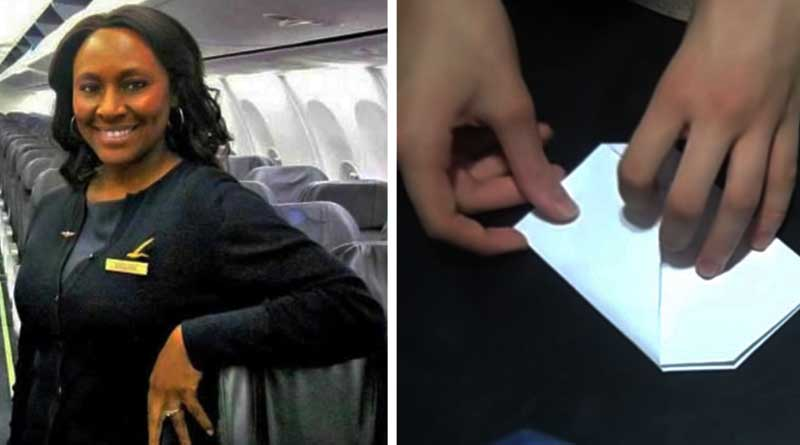 This Flight attendant saves teenage girl from human trafficking