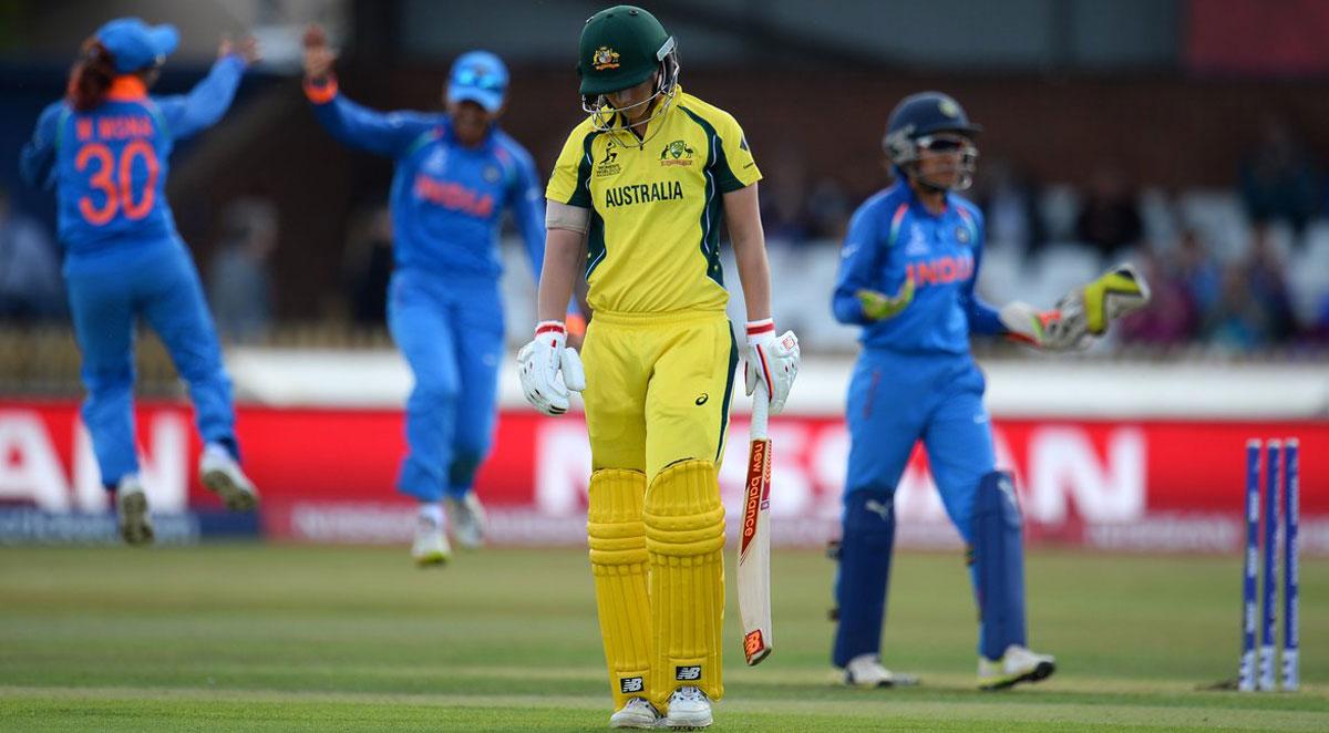 WWC 17 semifinal: India beats Australia by 36 runs