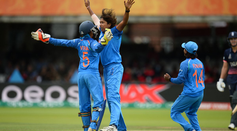 WWC 17: England ends innings with 227 runs against India