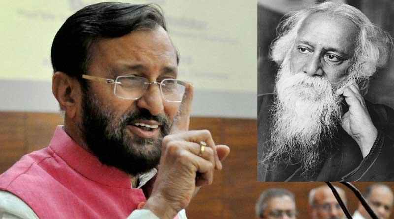 Won't remove Rabindranath Tagore from school books: Prakash Javadekar