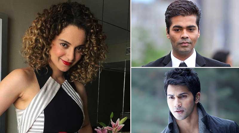 Nepotism Row: Karan Johar, Varun Dhawan apologise to Kangna Ranaut