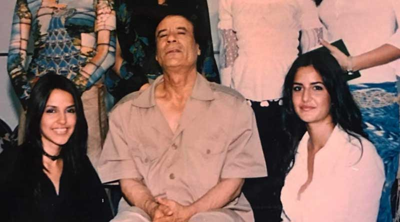 Photo of Katrina with Libyan dictator Muammar Gaddafi goes viral