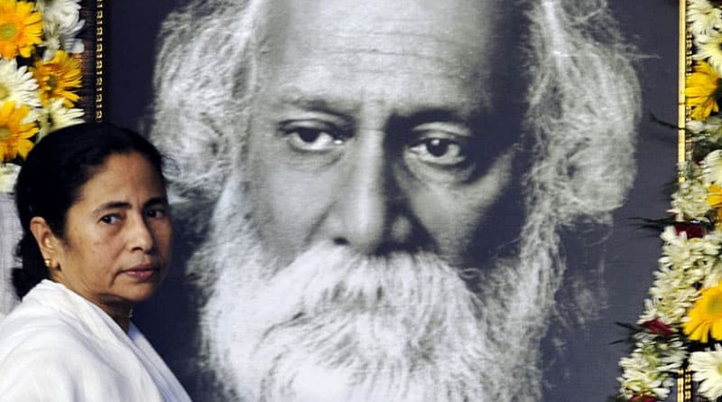 How can one remove Rabindranath Tagore from textbooks, lashesh Mamata