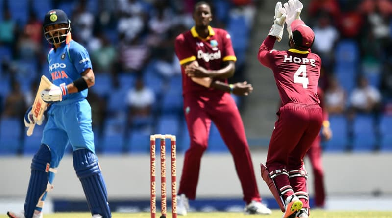 Team India subdued by West Indies in Antigua match