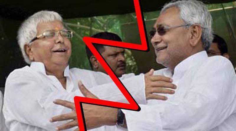 'Forgive Me':, Nitish Kumar Phoned Lalu Yadav