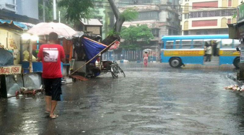 Rain lashes Kolkata, several areas waterlogged