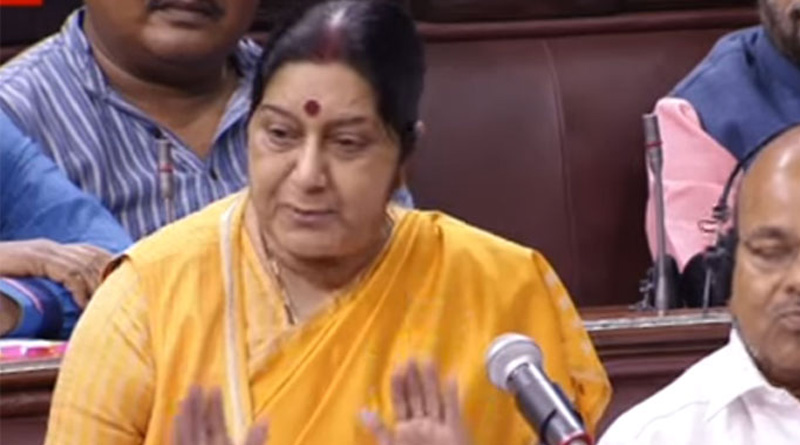 Sushma Swaraj seeks report from embassy over attack on Sikh boy in US