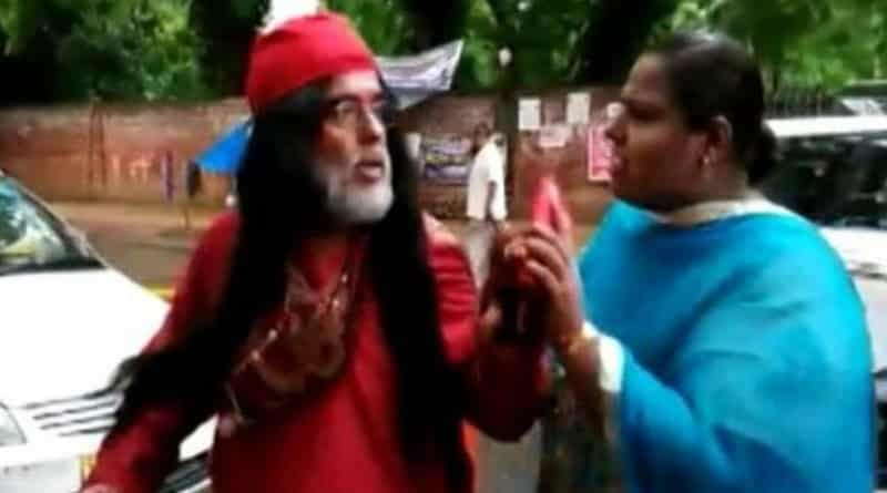 Big Boss fame Om Swami Publicly Beaten by women in Delhi