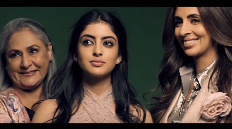 Jaya, Shweta Bachchan Nanda, Navya Naveli appear in a fashion magazine's August issue