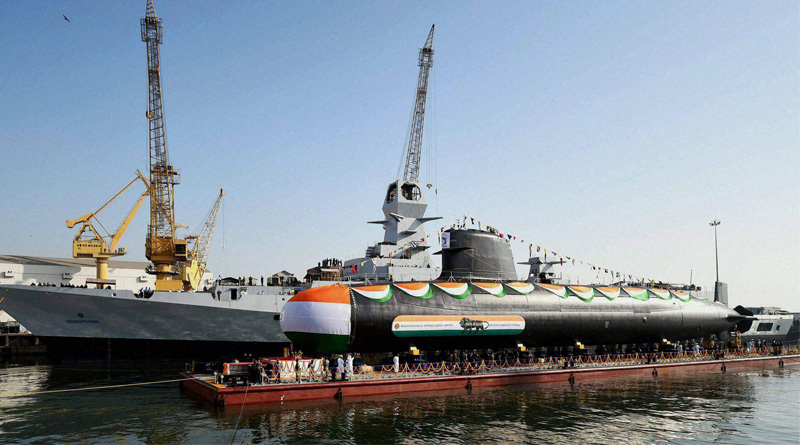 Navy to induct world's stealthiest submarine INS Kalvari