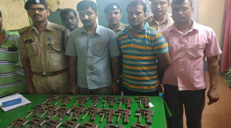 Huge arms cache seized from Up Namkhana Local