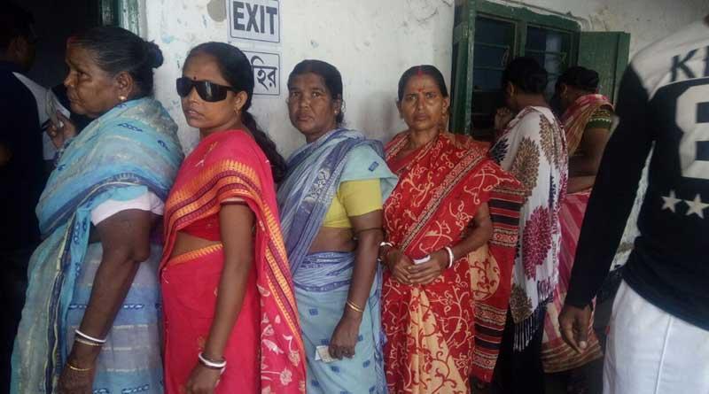 WB panchayat polls: BJP cadres attack Contai booth, held
