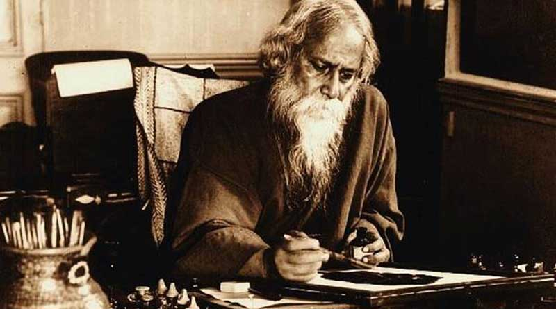 Rabindranath Tagore's painting sold in UK auction in 5 Crore Rupees। Sangbad Pratidin
