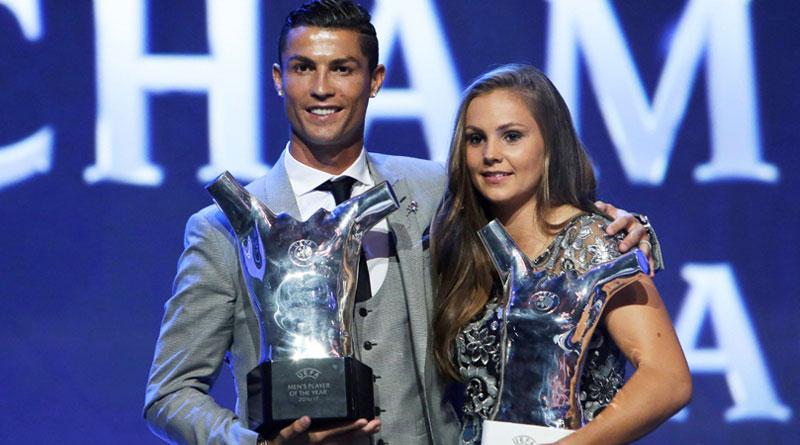 Cristiano Ronaldo named men's UEFA player for 2016-17