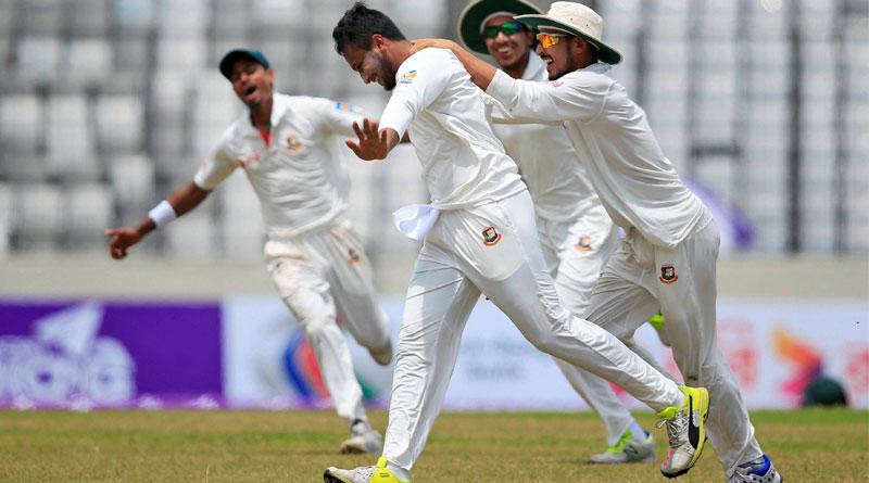 Bangladesh beats Australia in Dhaka Test